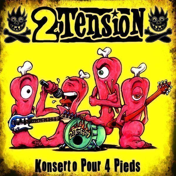 2dtension - Konserto Pour 4 Pieds