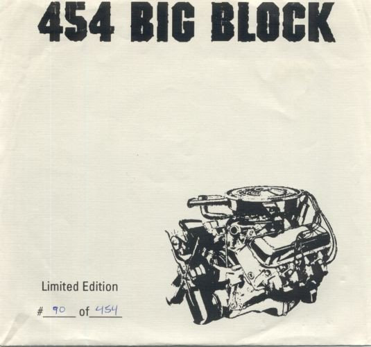 454 Big Block - Down / Dept. Of Youth Services