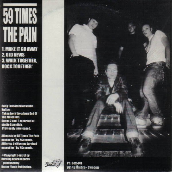 59 Times The Pain - 59 Times The Pain / Subterranean Kids