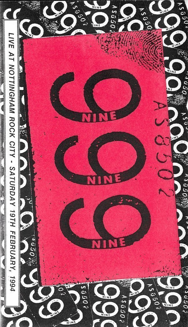999 - Live At Nottingham Rock City - Saturday 19th February 1994.