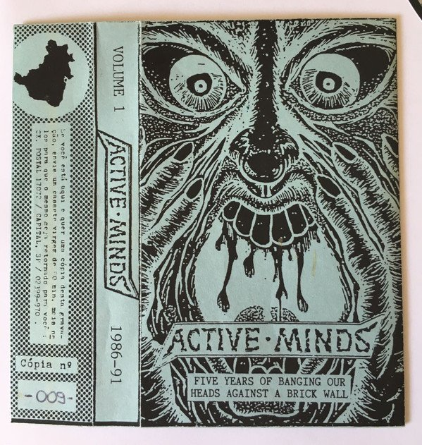 Active Minds - Five Years Of Banging Our Heads Against A Brick Wall  (1986-91 Volume 1)
