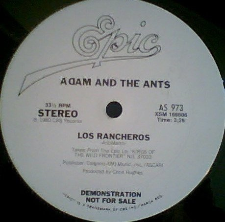 Adam  The Ants - Los Rancheros / Physical (You