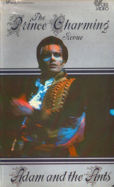 Adam  The Ants - The Prince Charming Revue