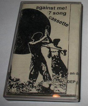 Against  Me - 7 Song Cassette