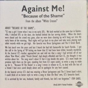 Against  Me - Because Of The Shame