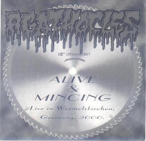 Agathocles - Alive & Mincing (Live In Wermelskirchen, Germany, 2000)