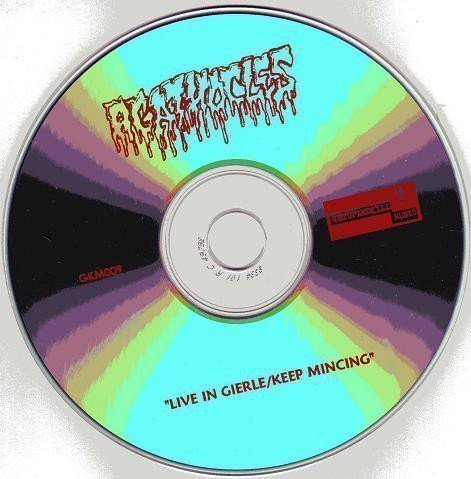Agathocles - Live In Gierle, Belgium, 1989 / Keep Mincing