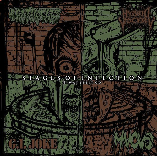 Agathocles - Stages Of Infection - 4-Way Split CD