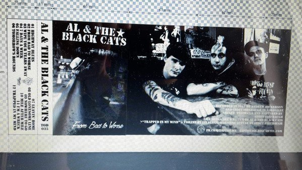 Al  The Black Cats - From Bad To Worse