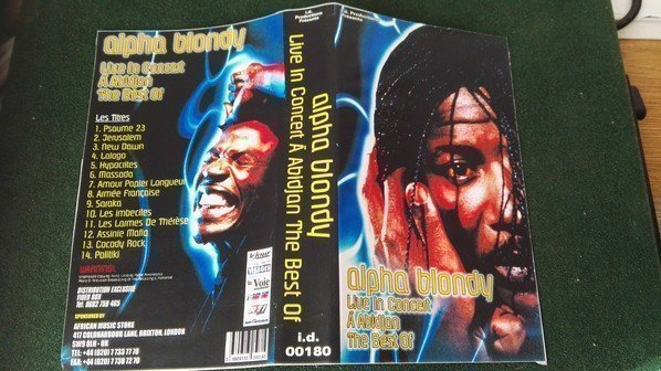 Alpha Blondy And The Wailers - Live In Concert A
