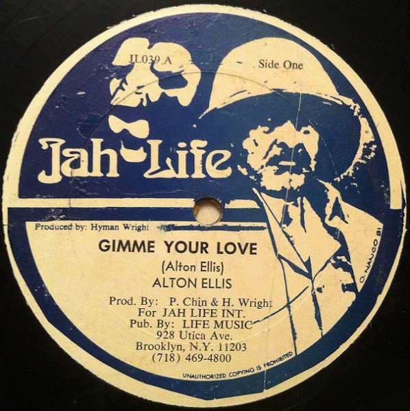 Alton Ellis - Gimme Your Love / Vibes And Tribulation