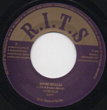 Alton Ellis - History Recalled / Hunger For Your Love