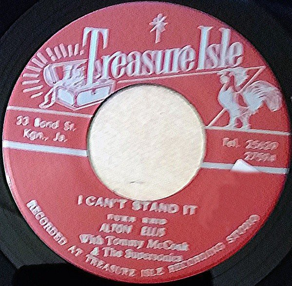 Alton Ellis - I Cant Stand It / Willow Tree