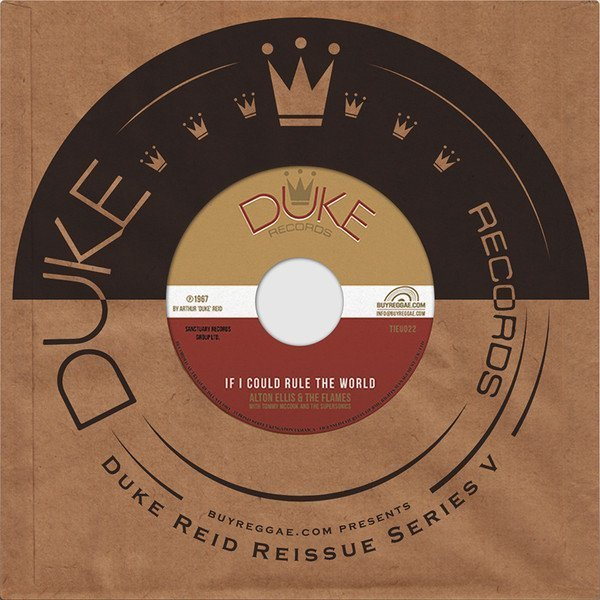 Alton Ellis - If I Could Rule The World / If This World Were Mine