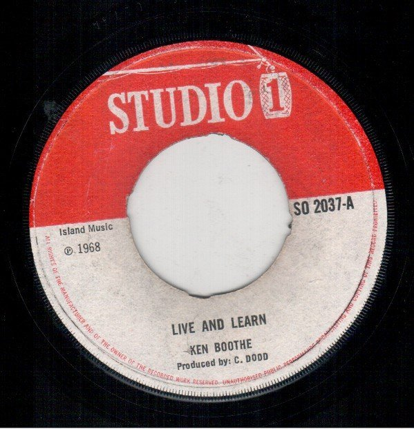 Alton Ellis - Live And Learn / Cry Baby Cry