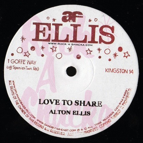 Alton Ellis - Love To Share / Let Him Try
