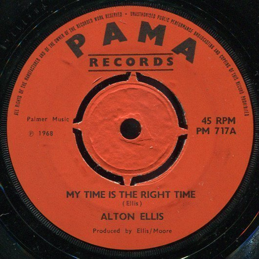 Alton Ellis - My Time Is The Right Time / Tribute To Sir Alex