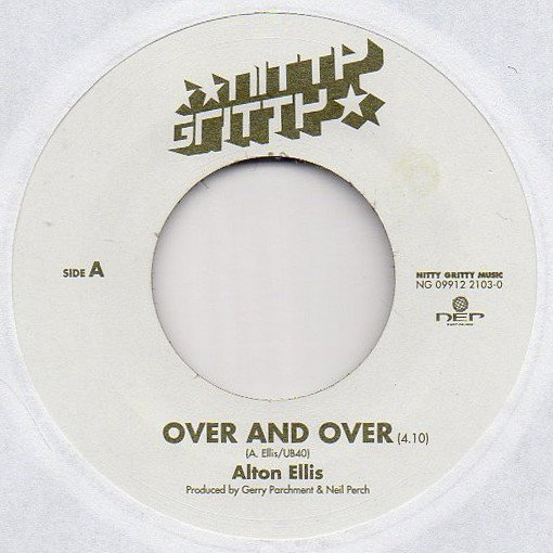 Alton Ellis - Over And Over / Take It Easy
