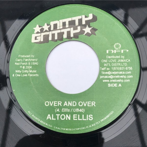 Alton Ellis - Over And Over/Reason For Love