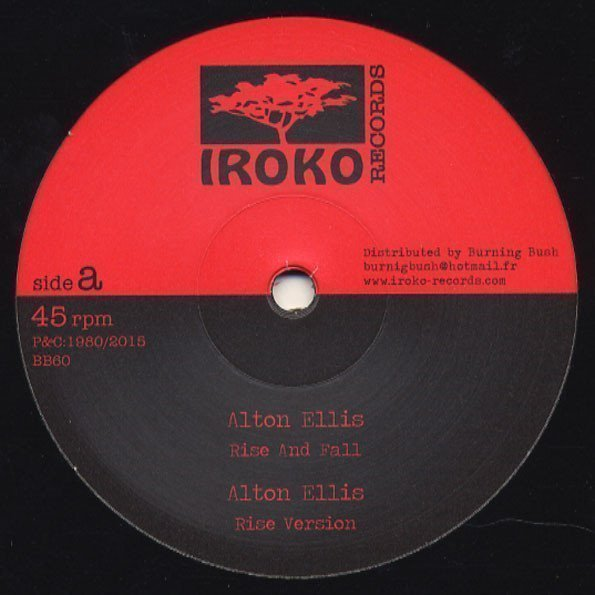 Alton Ellis - Rise And Fall / Make Up Your Mind