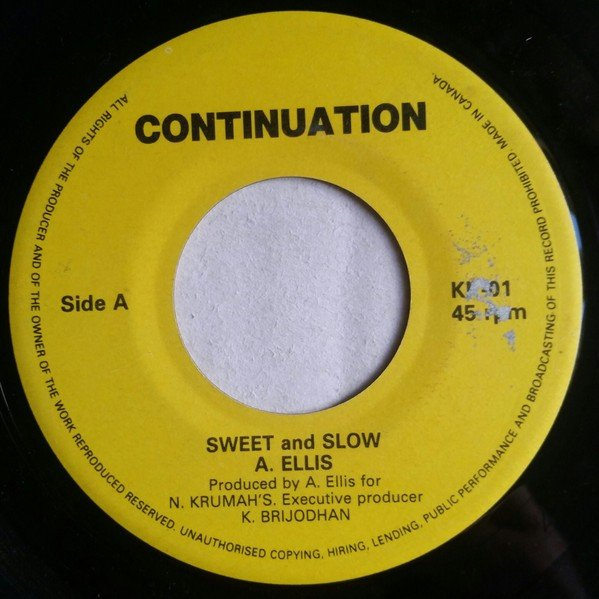 Alton Ellis - Sweet And Slow / To Marry You