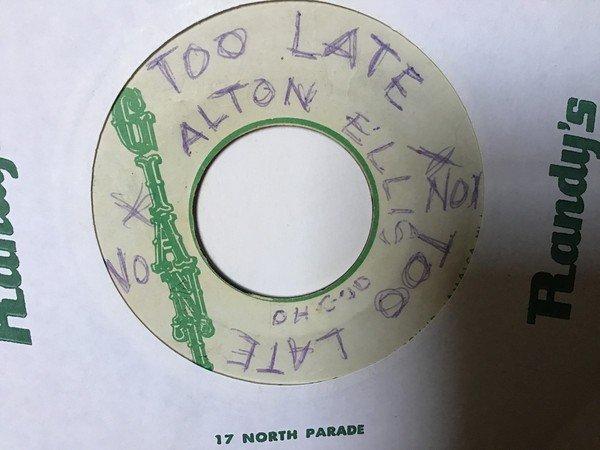 Alton Ellis - Too Late To Turn Back Now / Too Late Version