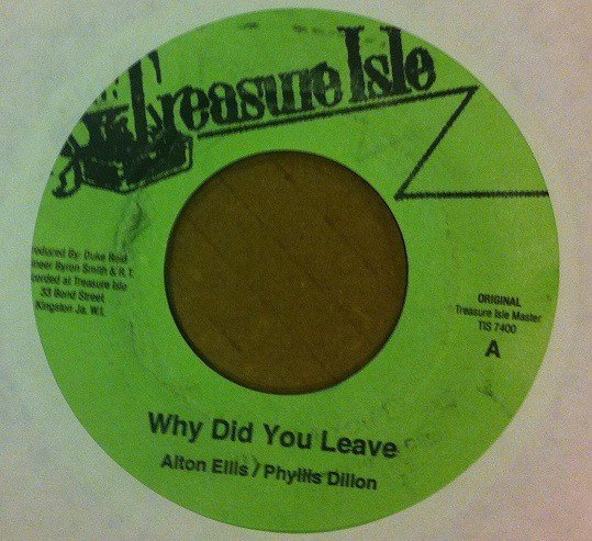 Alton Ellis - Why Did You Leave / Breaking Up Mix