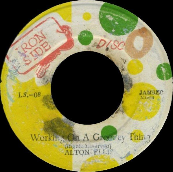 Alton Ellis - Working On A Groovey Thing / Dis A Candy