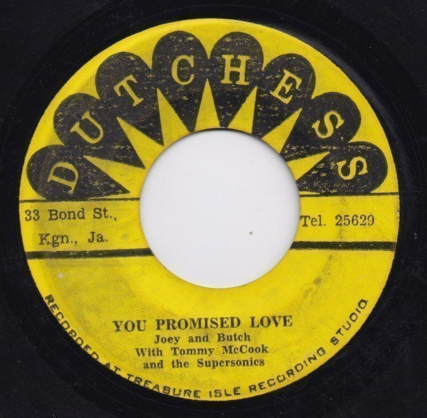 Alton Ellis - You Promised Love / Oh, What A Smile Can Do