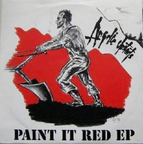Angelic Upstarts - Paint It Red EP