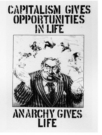 Anthrax - Capitalism Gives Opportunities In Life, Anarchy Gives Life