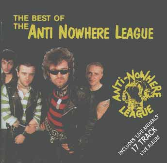 Anti nowhere League - The Best Of / Live Animals