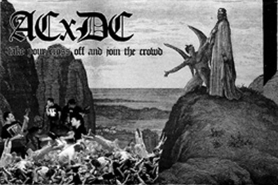 Antichrist Demoncore - Take Your Cross Off And Join The Crowd