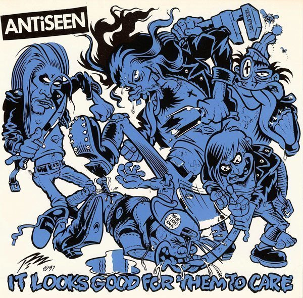 Antiseen - It Looks Good For Them To Care