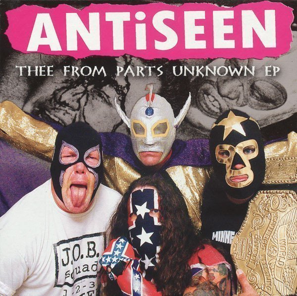 Antiseen - Thee From Parts Unknown EP