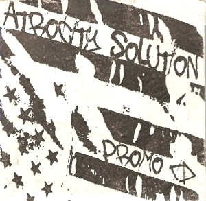 Atrocity Solution - Atrocity Solution (Promo CD)