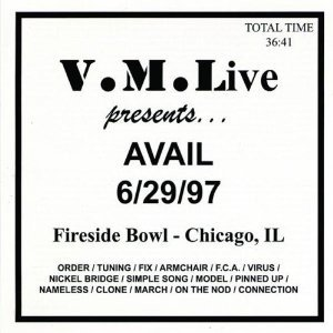 Avail - 6/29/97 (Fireside Bowl - Chicago, IL)