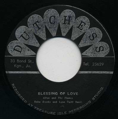 Baba Brooks - Blessing Of Love / Nothing Sweeter