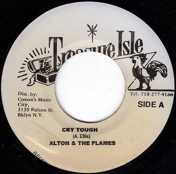 Baba Brooks - Cry Tough / Spit Fire