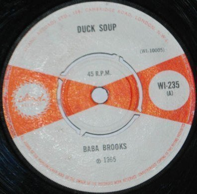 Baba Brooks - Duck Soup / Renegade