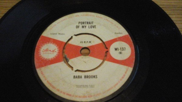 Baba Brooks - Goodbye / Portrait Of My Love