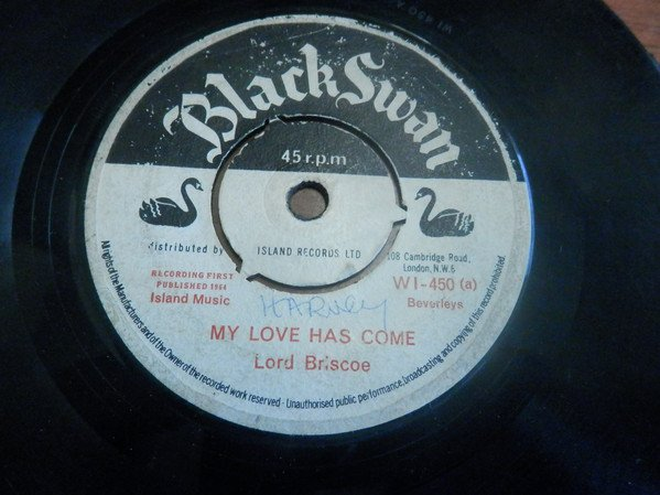 Baba Brooks - My Love Has Come / Sweet Eileen