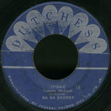 Baba Brooks - Word Of Wisdom / Spider