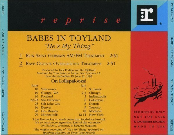 Babes In Toyland - He