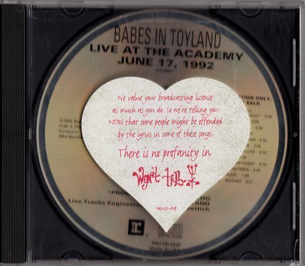 Babes In Toyland - Live At The Academy