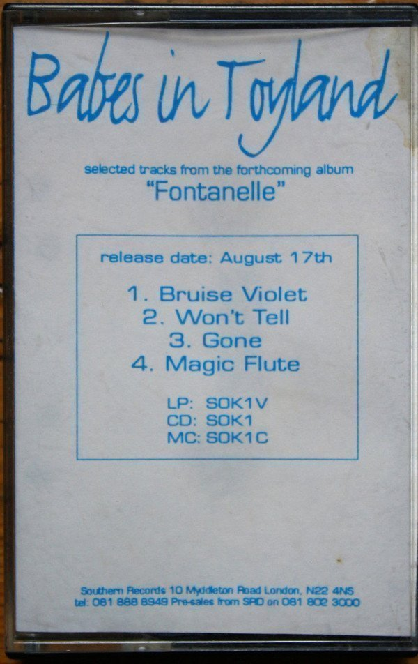 """Babes In Toyland - Selected Tracks From The Forthcoming Album """"Fontanelle"""""""