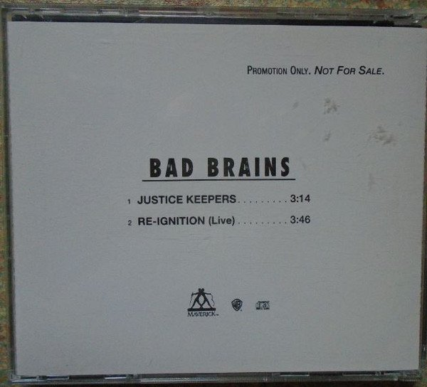 Bad Brains - Justice Keepers