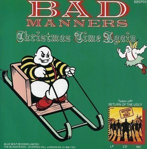 Bad Mannerd - Christmas Time Again / Skinhead Luv-A-Fair