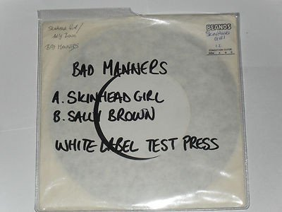 Bad Mannerd - Skinhead Girl