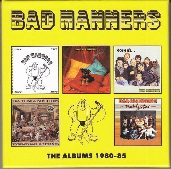 Bad Mannerd - The Albums 1980-85